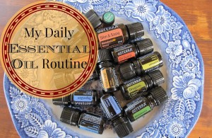 Essential oils for health! Here is my daily EO routine (for now). // The Ezer Wife
