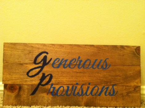Generous Provisions. Gifts for them, essential for you. www.etsy.com/shop/GenerousProvisions // The Ezer Wife