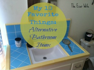 "Looking to ""green"" your bathroom routine? Here are my favorite things, must haves for my bathroom. // The Ezer Wife"