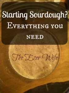 Wanting to make sourdough bread at home? Start here with this simple supply list! // The Ezer Wife