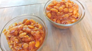 Real Food Crock Pot Baked Beans: a sure hit for your next cookout.